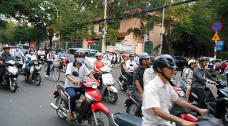 13/1-14 :: Vietnam :: Ho Chi Minh :: Trafiken