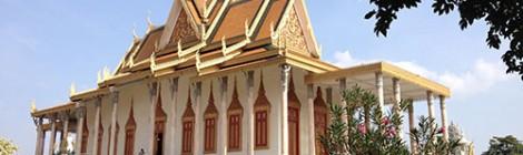 21/1-14 :: Kambodja :: Silverpagoden och Kungliga palatset